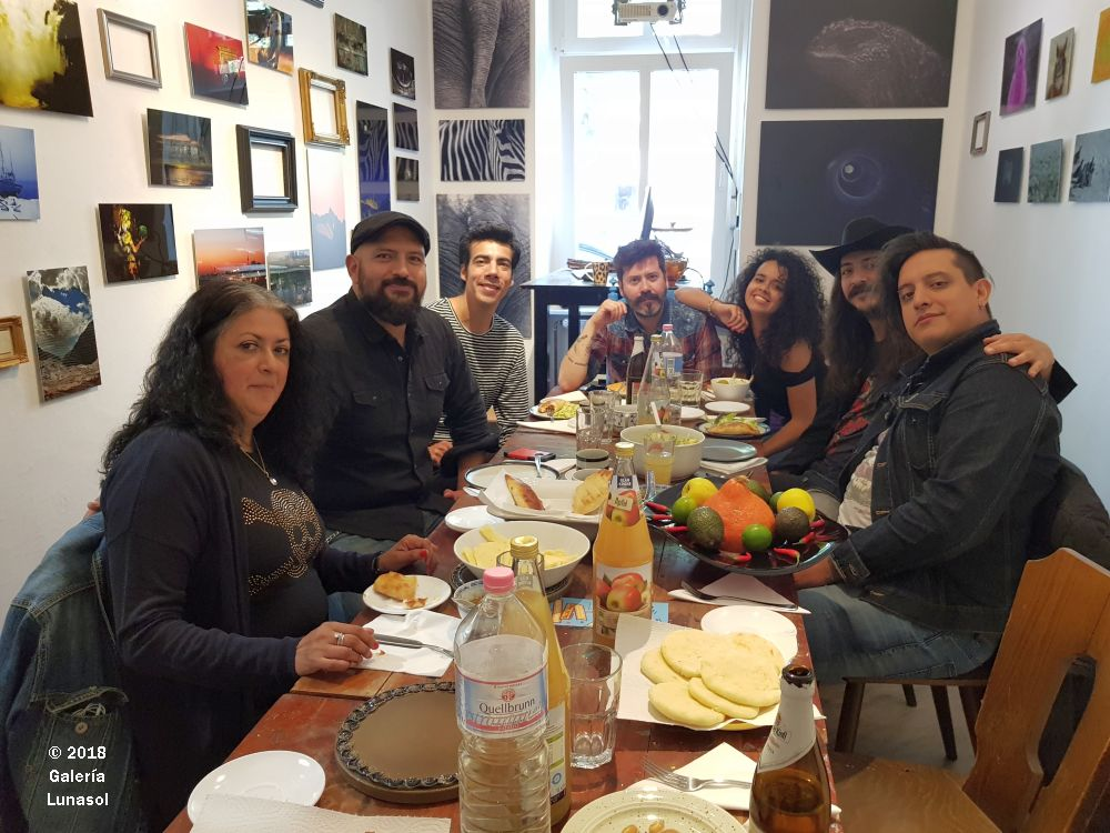 Velazquez Band of Mexico at Breakfast